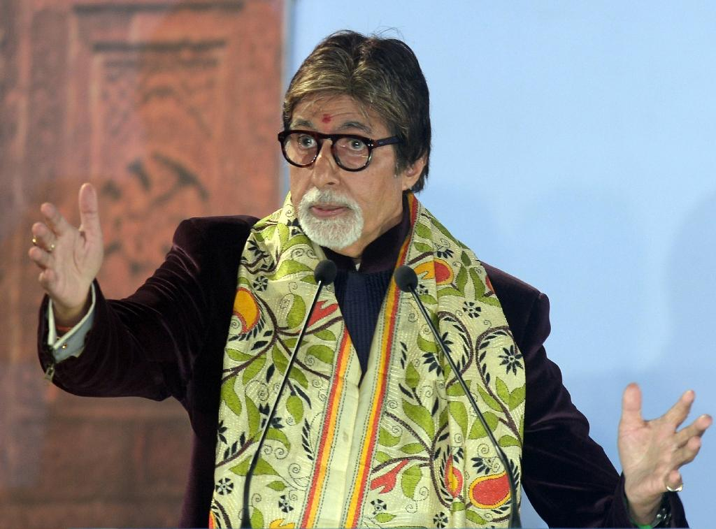 Amitabh Bachchan was appointed director of at least four shipping companies registered in offshore tax havens and set up 23 years ago. He has since resigned from the companies. (AFP Photo/Dibyangshu Sarkar)