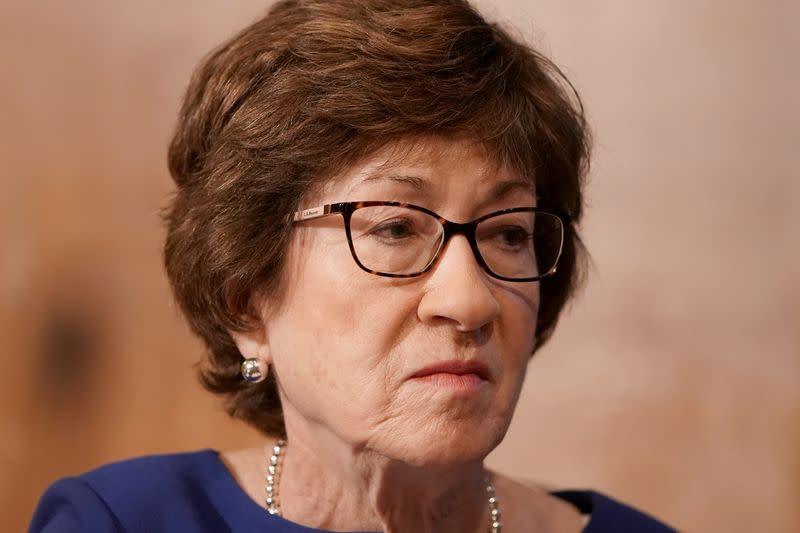U.S. Senate should not vote on Supreme Court nominee before election, says Republican Senator Collins