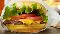 1,500 people waited in a seven-hour line to get a Shake Shack burger, would you?