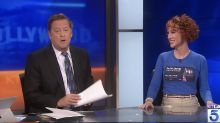 Kathy Griffin schools news anchor after he questions whether comedy is really a 'male dominated field'