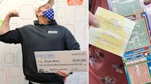 Dad reveals touching reason for playing lottery after 6th big win