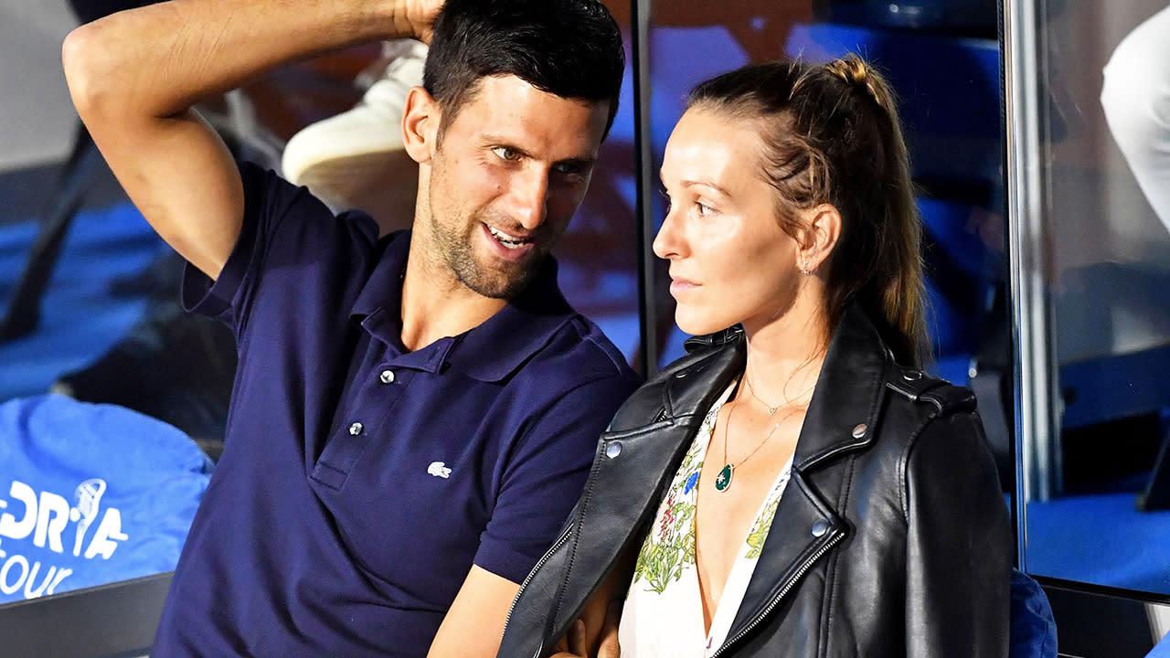 Tennis News Novak Djokovic Addresses Divorce Rumours