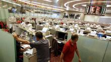 La Bolsa de Hong Kong se mantiene sin cambios a media sesión