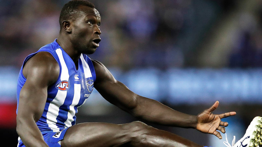 'Get serious': AFL great's anger over Majak Daw incident
