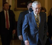 McConnell warns Democrats he'll block rushed infrastructure package