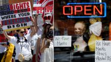 'Risky approach': Why some US states are pushing to reopen 'too soon'