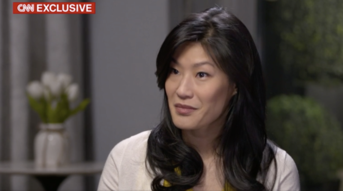 Evelyn Yang, wife of presidential candidate Andrew Yang, tells CNN she was sexually assaulted by her doctor