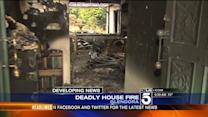 Elderly Man Rescued, Wife Killed in Glendora House Fire