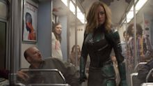 Brie Larson suits up in the new 'Captain Marvel' trailer