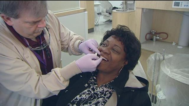 Houstonians receive free dental care in Med Center