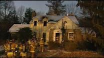 2 rescued from Del. house fire