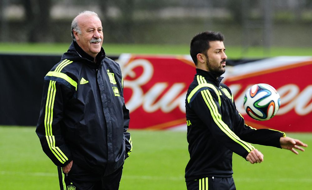Villa gets nod in last Spain match vs. Australia