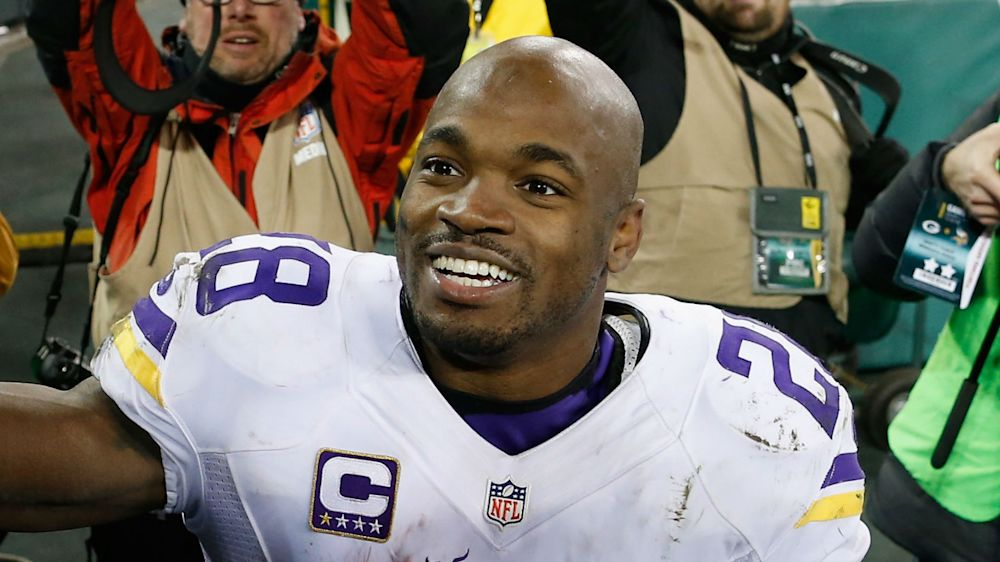 Adrian Peterson confirms deal with Saints