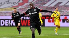 Leverkusen's Diaby terrorises Dortmund in 2-1 win