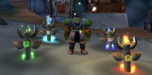 New Shaman totems in the expansion