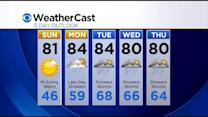 KDKA-TV Evening Forecast (5/23)