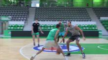 Basket - Jeep Élite : Wembanyama a défié Gobert et Poirier à l'entraînement