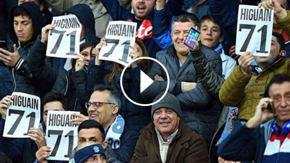 VIDEO: ¿Por qué el San Paolo abucheó a Higuaín en el minuto 71?