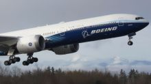 Boeing's new 777X airliner takes off on first flight