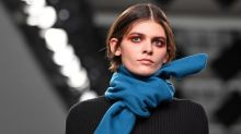 Orange eyeshadow: Make-up experts on how to wear LFW's biggest beauty trend
