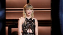 Taylor Swift Returns to Country Music in a Dress Made for a Pop Star