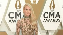 Carrie Underwood attends the 2019 CMA Awards