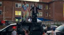 Sydney lockdown 'pop-up party' shut down, man fined $1000