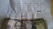 Ladrão deixa pedido de desculpas emocionante para sua vítima