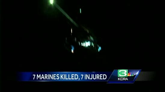 7 killed, 7 injured in military training accident