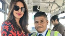 Globe-trotter Priyanka Chopra looks lovely in this pic