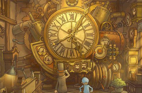 Layton leads Japanese software charts