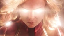 Brie Larson Lights Up First 'Captain Marvel' Trailer