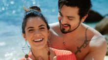 Luan Santana e Jade curtem primeiro dia como noivos em Portugal