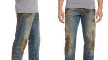 Would You Spend $425 on Jeans With Fake Mud?