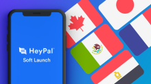 ClickStream's HeyPal(TM) App Prepares Soft-Launch in Canada, Mexico, Japan, France & Egypt for Monday April 12th, 2021