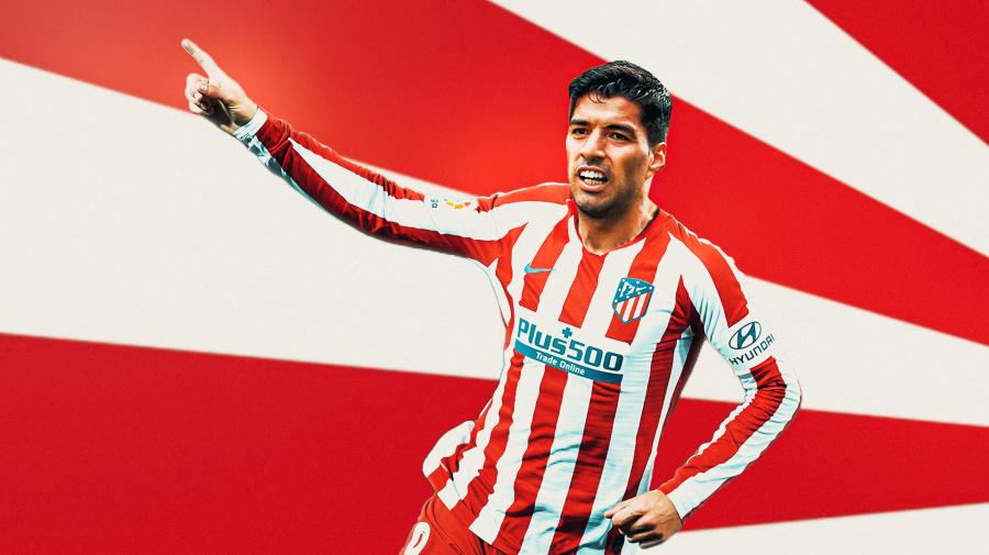Ora è ufficiale: Suarez è un nuovo giocatore dell'Atletico Madrid