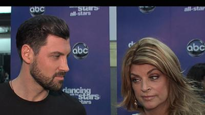 Kirstie Alley And Maksim Chmerkovskiy On Their 'Dancing' Elimination: We Gave It Our 'Best Shot'