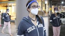 Sara Ali Khan Ignore Media at Airport, Video Viral