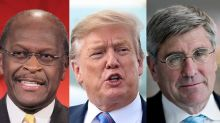 Trump effort to put political allies on Fed dealt blow after Herman Cain withdraws