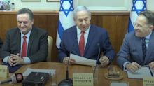 Israel's premier gets his Borises in a twist in cabinet meeting