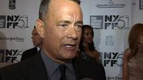 """Tom Hanks, """"real-life"""" Capt. Philips at NYFF premiere"""