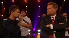 One Direction's Liam Payne battles James Corden to prove he's just as good as a solo artist