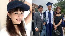林葉亭帥兒從美國高中畢業 「媽媽放心又驕傲」