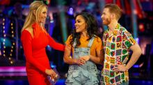 'Strictly's' Alex Scott just misses out on a semi-final place after vote that splits judges