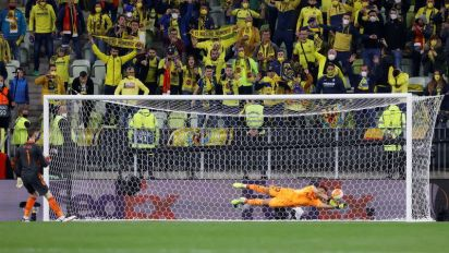 Villarreal conquista Liga Europa após vencer Manchester United nos pênaltis