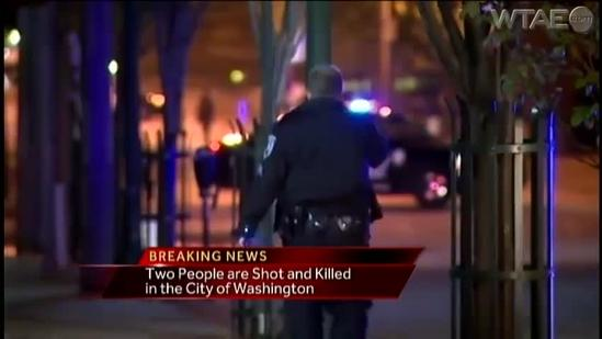 Two dead after shooting in Washington