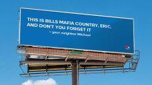 Bills fan gets billboard help from Pepsi