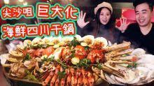 【尖沙咀美食】$60巨大化四川干鍋+海鮮大咖