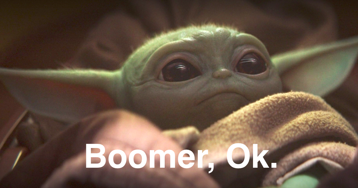 Boomer Yoda and Yoda Baby Meme Is Destroying the Internet