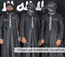 IS claims Sri Lanka bombings, releases photo of attackers